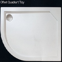 Offset Quadrant Showers Trays Clontarf Dublin